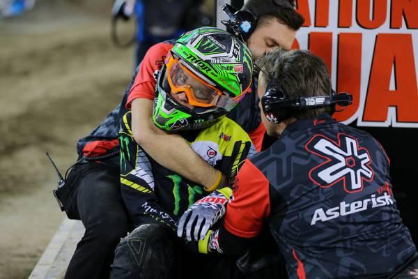 Las lesiones de hombro en el motocross