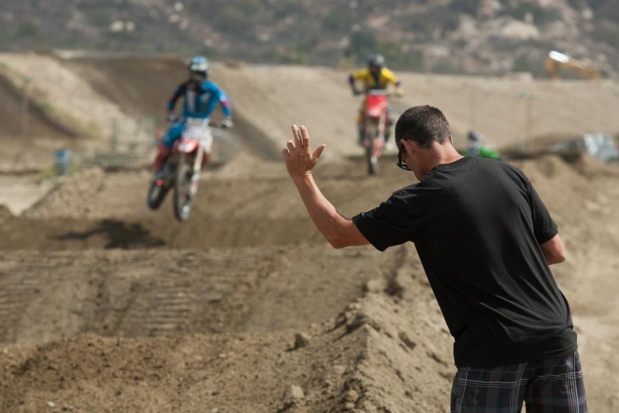 entrenamiento motocross